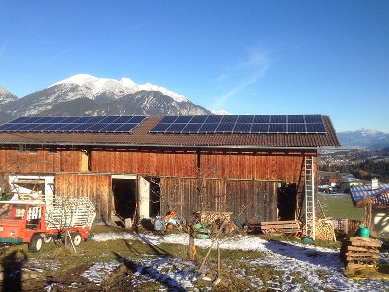 Oberperfuss – 2 x 5 KW PV Anlage